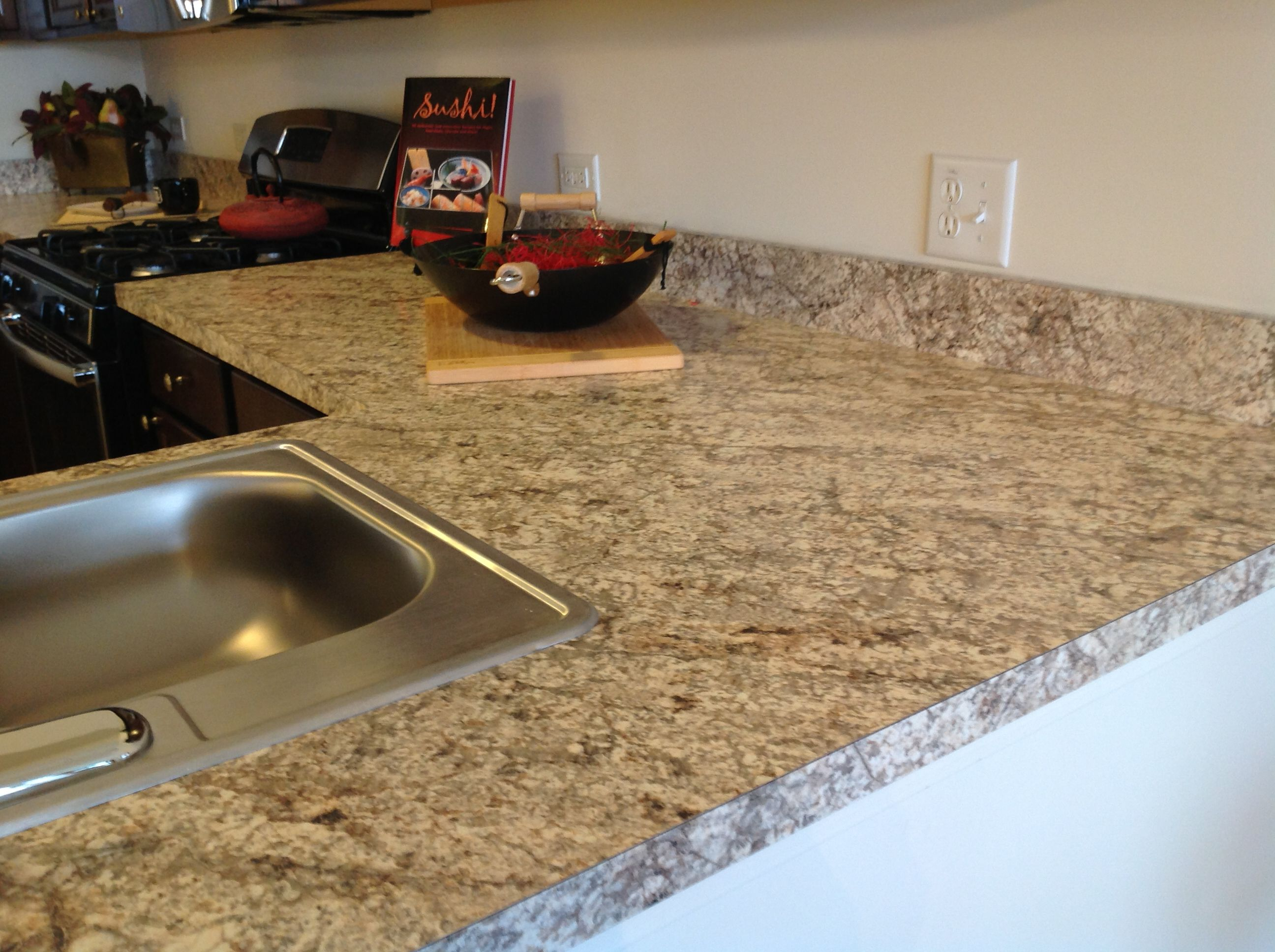wood countertop gallery spalted awesome with miracle countertops granite in by method pecan best fort devos price of custom photo and