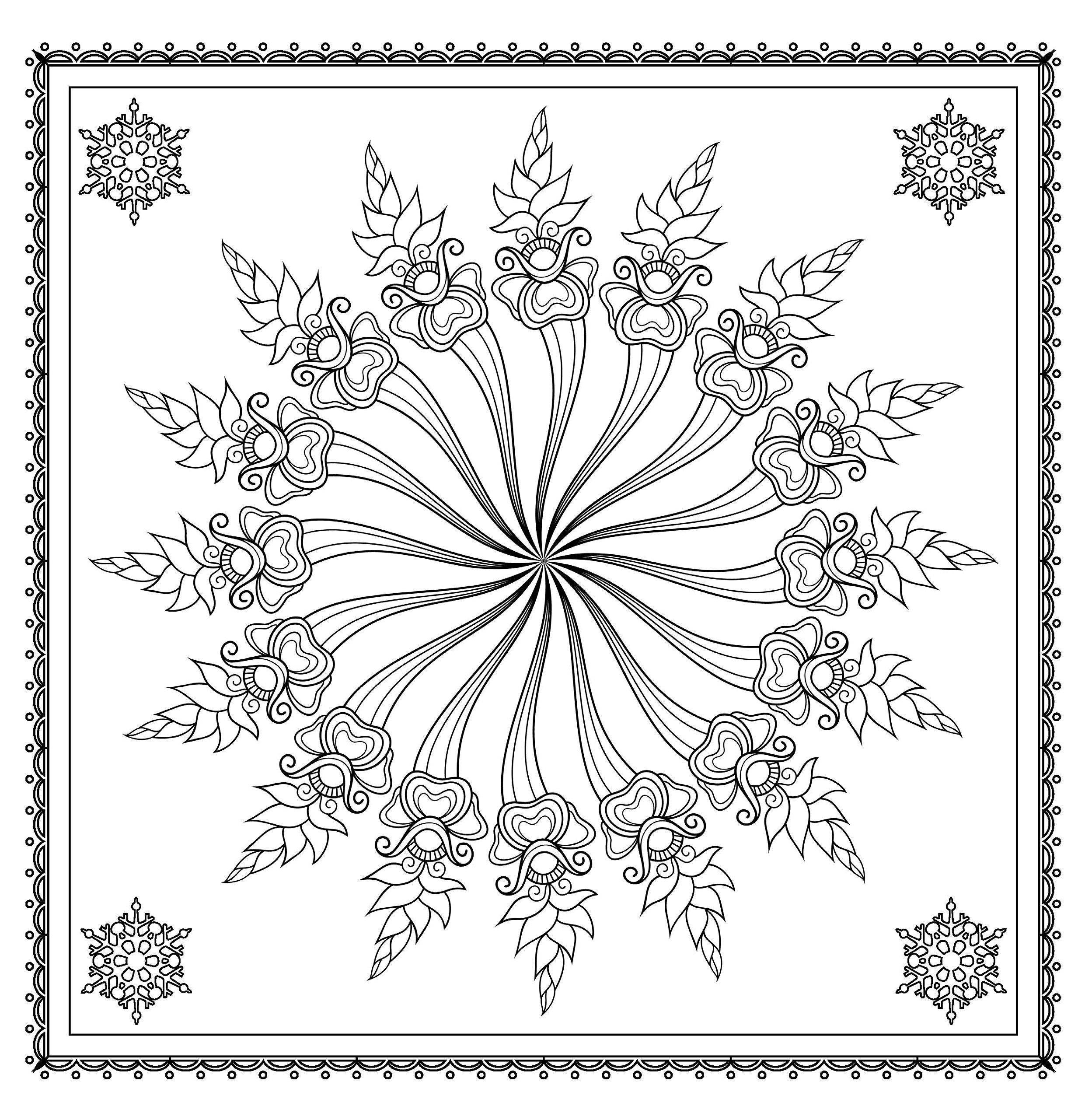Amazon.com: Christmas Magic: Fabulous Festive Designs to Color ...