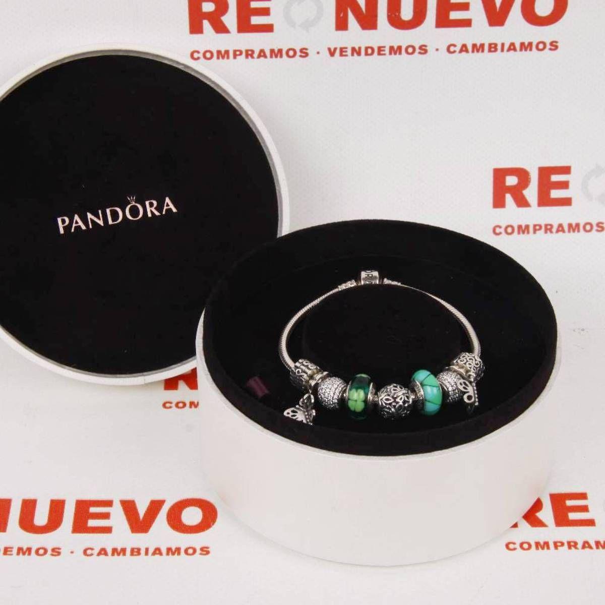 900565ed273a Pulsera #pandora con 9 abalorios E267840 de segunda mano | Tienda de ...