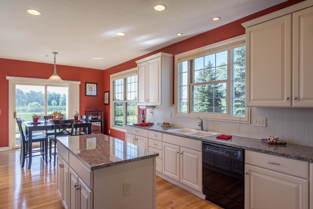 Traditional Kitchen With Hardwood Floors Athens Raised