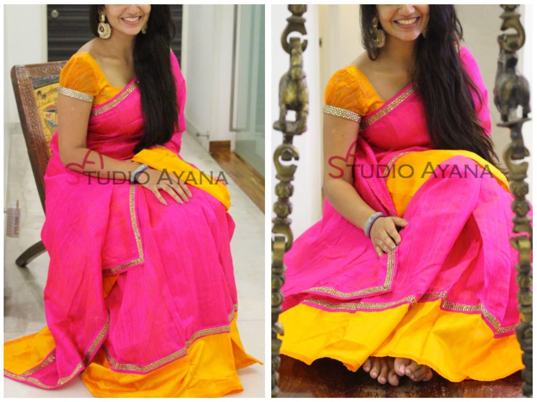 Jyothika traditional sari at shobi wedding saree blouse patterns - Studio Ayana Contact 099401 21524 18 July 2016 Sareeblouse