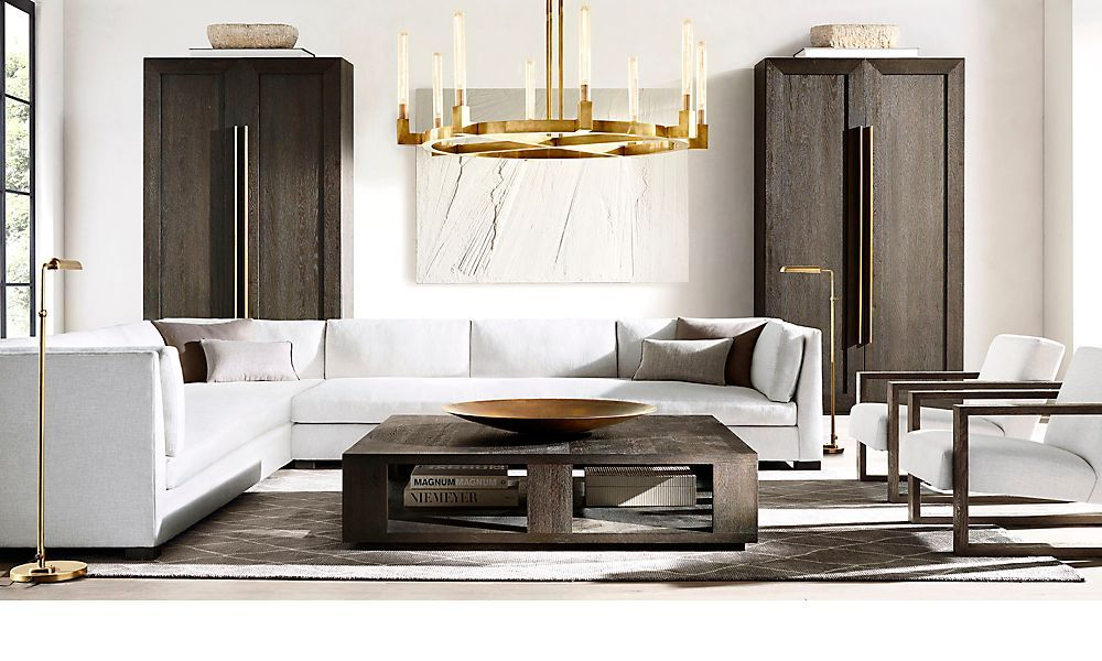 62 000 sf of stunning style rh grand opening in review living rh pinterest com