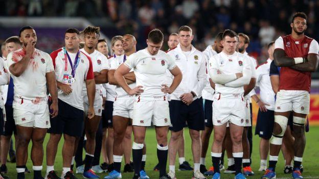 Fans heartbroken as England lose to South Africa England