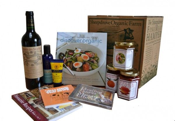 Win a Sheepdrove Organic Farm hamper  Spreading the love with preserves, books, wine, Mozart and Neal's Yard Remedies