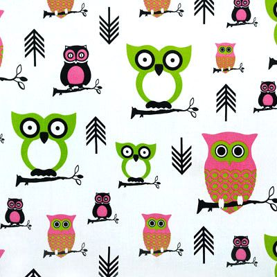 I love the owl print.