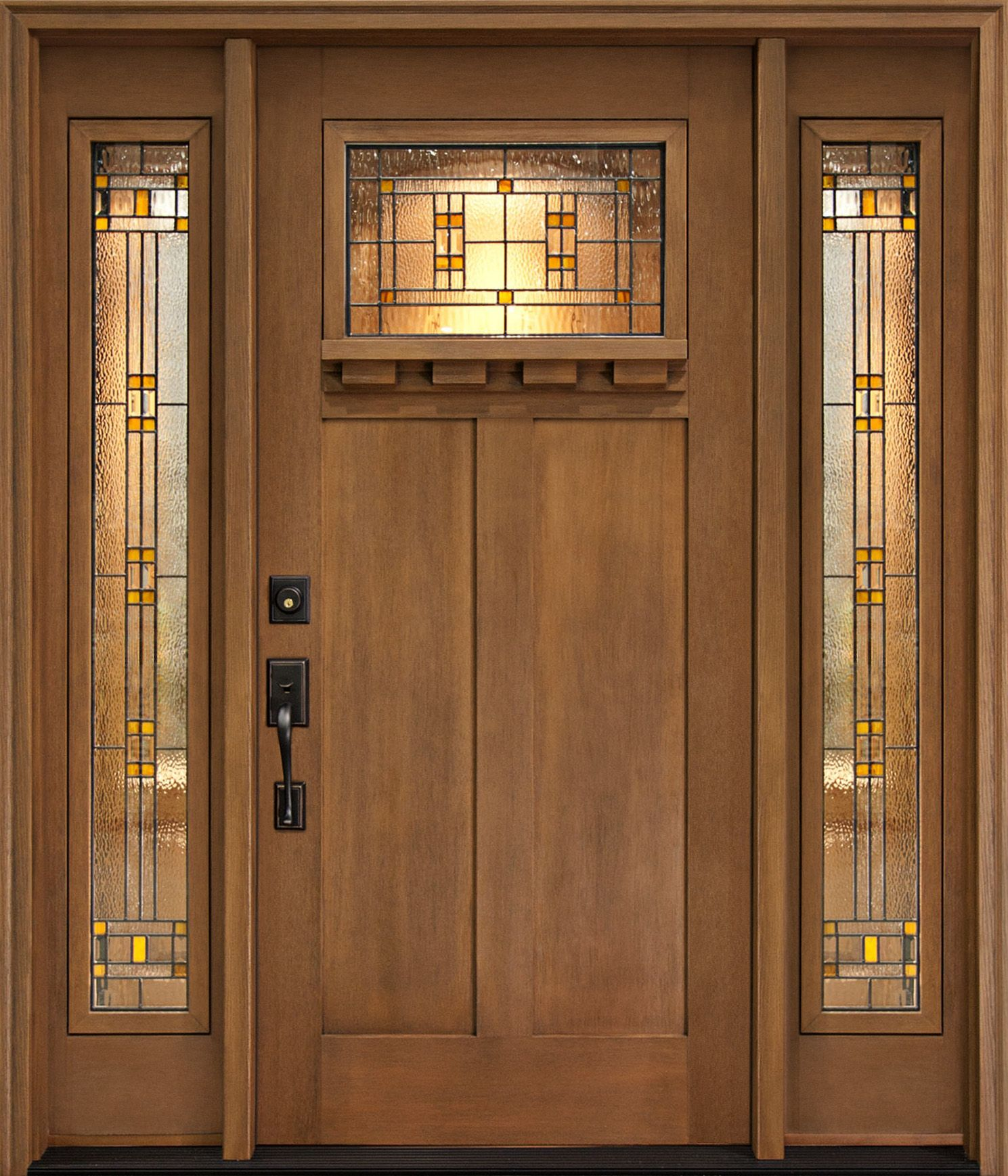 New Home Designs Latest December 2012: Clopay Craftsman Collection Fiberglass Front Door Named