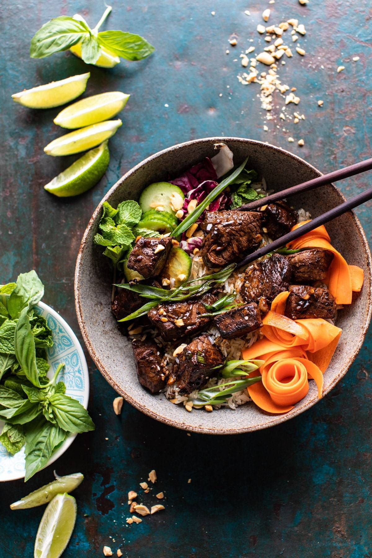 30 Minute Vietnamese Beef And Crispy Rice Bowl Half Baked Harvest Recipe In 2020 Recipes Beef Recipes Food