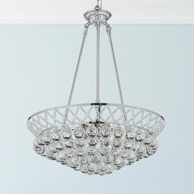 Lighting by pecaso chrome charlotte chandelier lighting lighting by pecaso chrome charlotte chandelier mozeypictures Image collections
