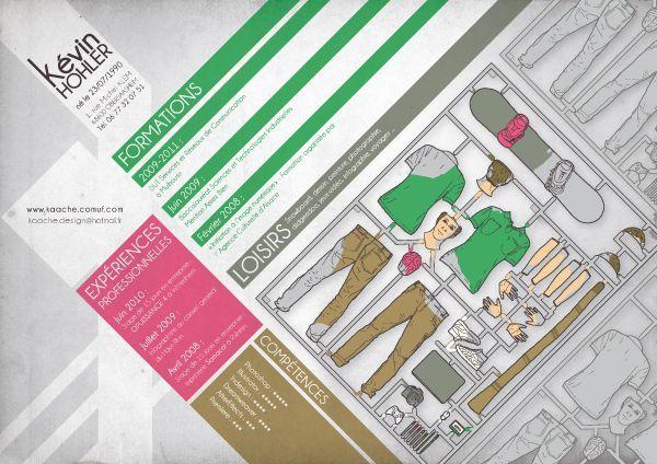 35 Brilliantly Creative Resume Designs DO Pinterest Graphic