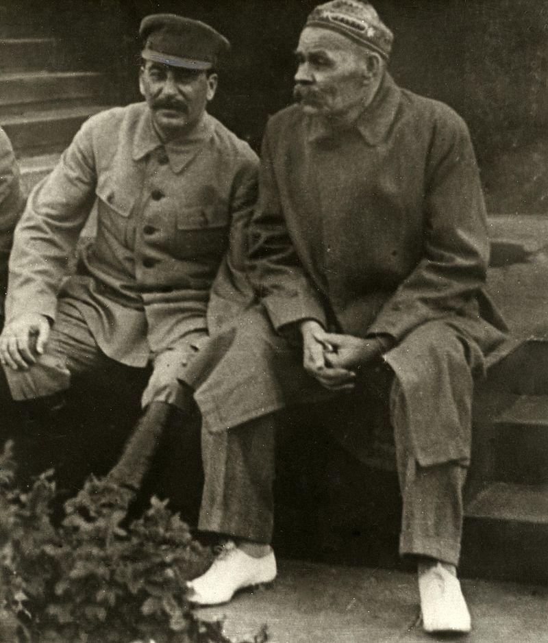 Joseph Stalin And Maxim Gorky 1932 Maxim Gorky Wikipedia The