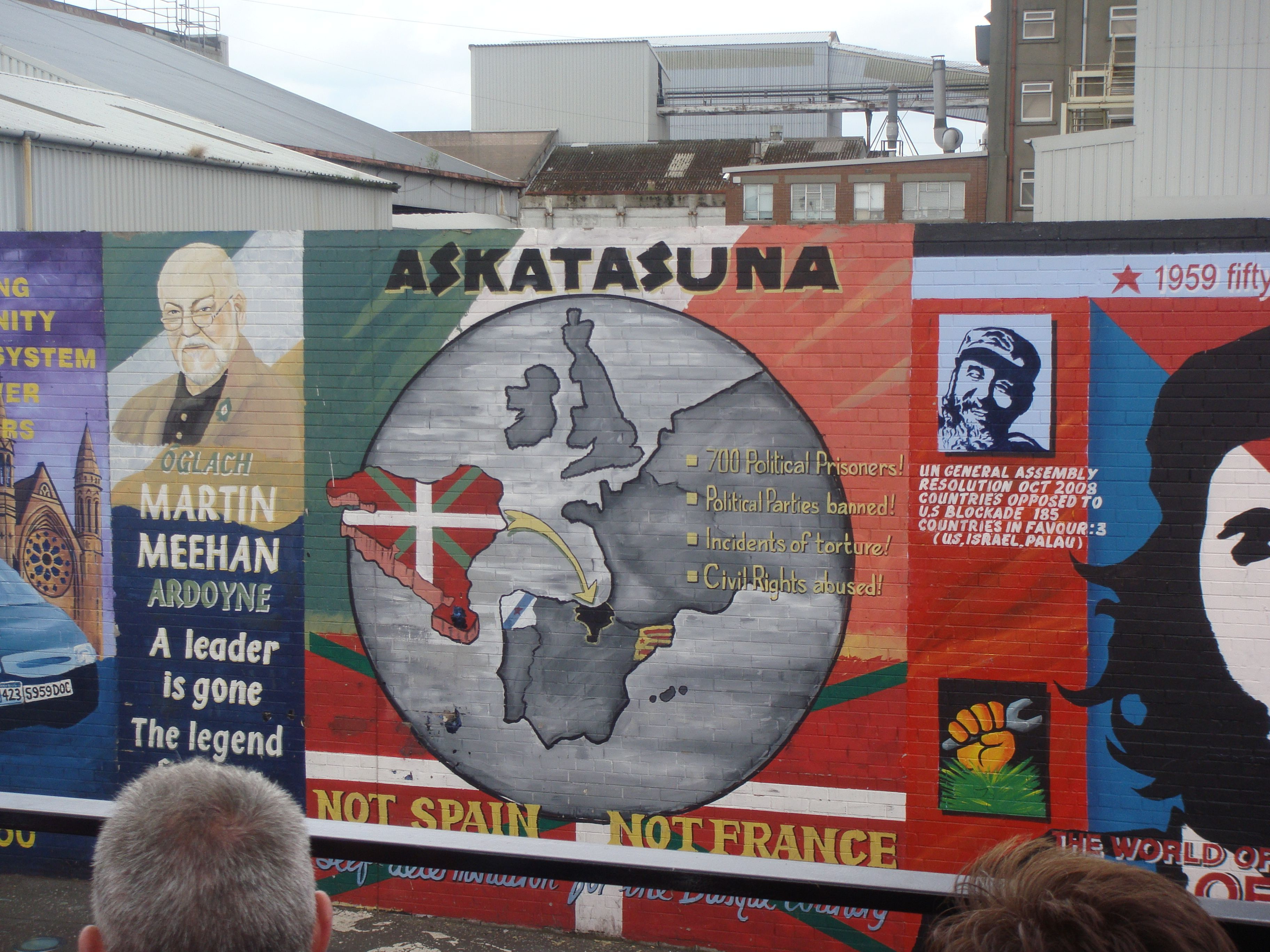 Basque Country Freedom Belfast Freedom Basque Country Basque