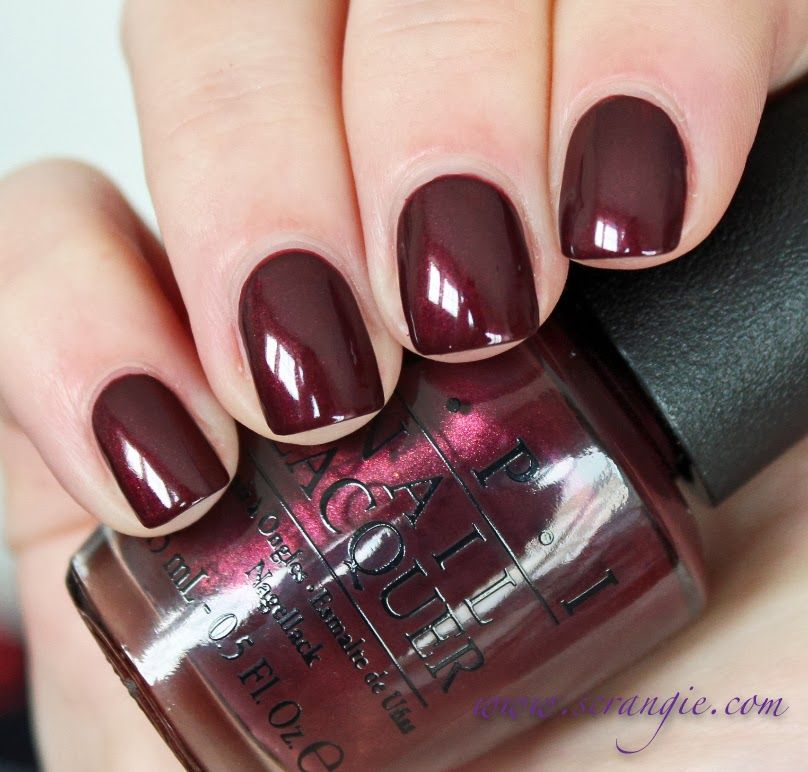 OPI - Sleigh Ride For Two | Hair, Nails and Make Up | Pinterest ...