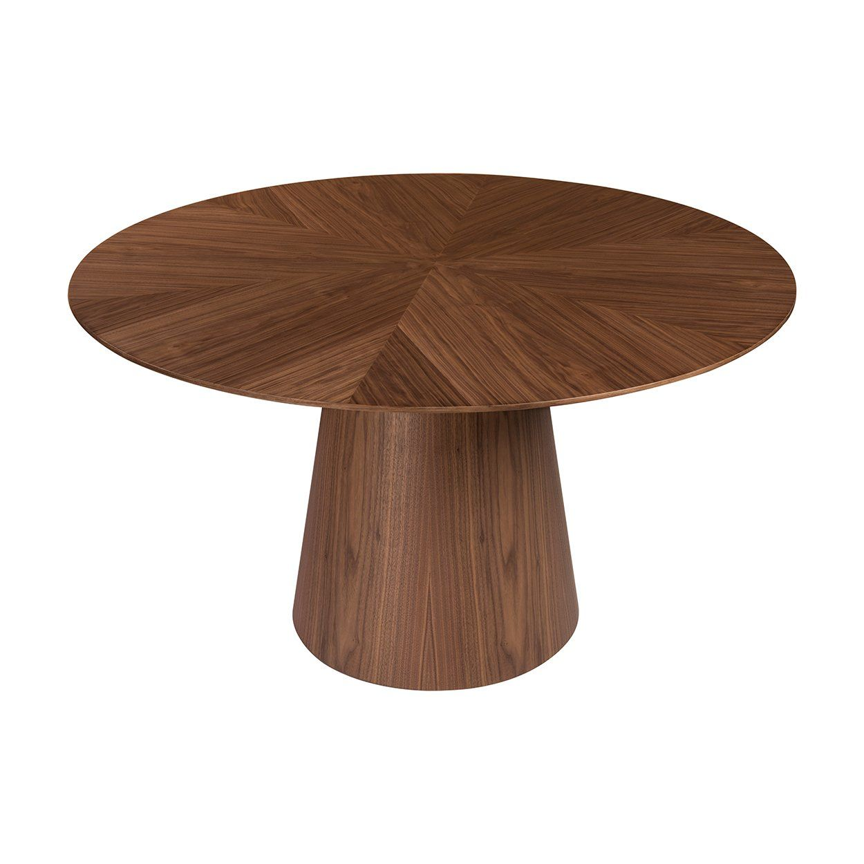 Deo Round Dining Table In 2021 Round Dining Table Round Dining Walnut Dining Table