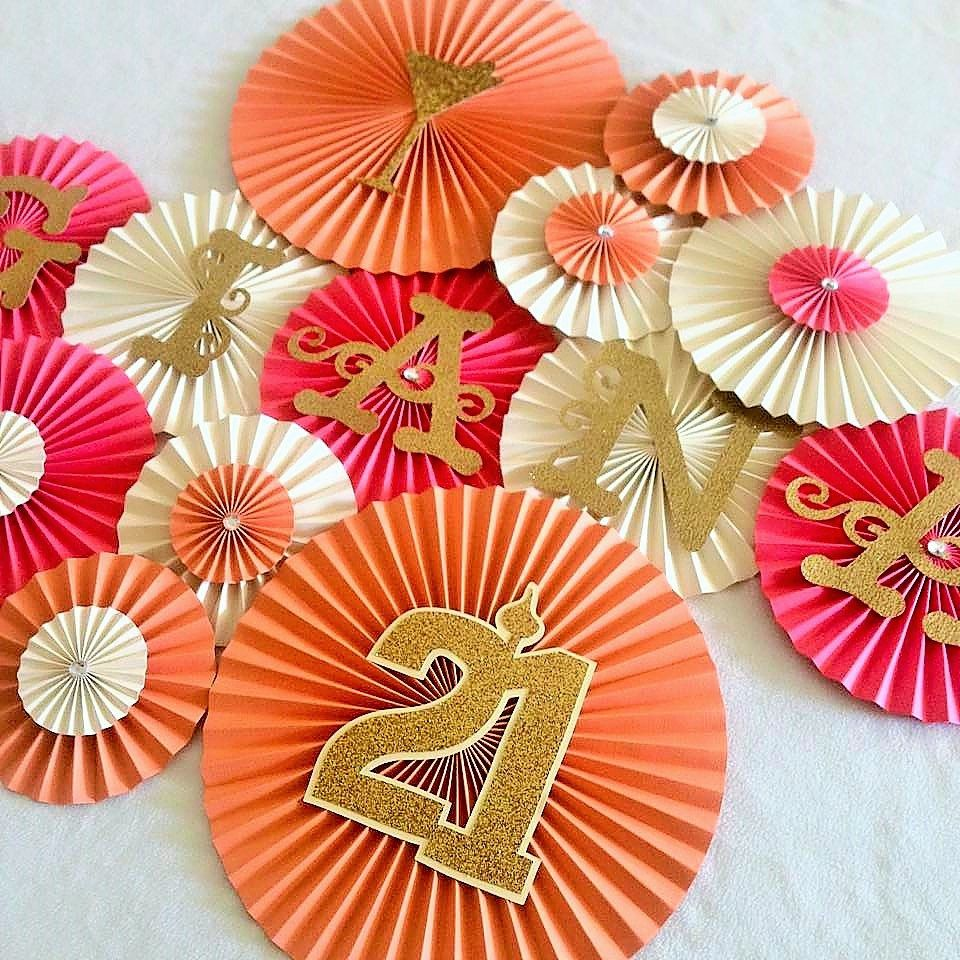 Easy Paper Craft For Birthday Decoration
