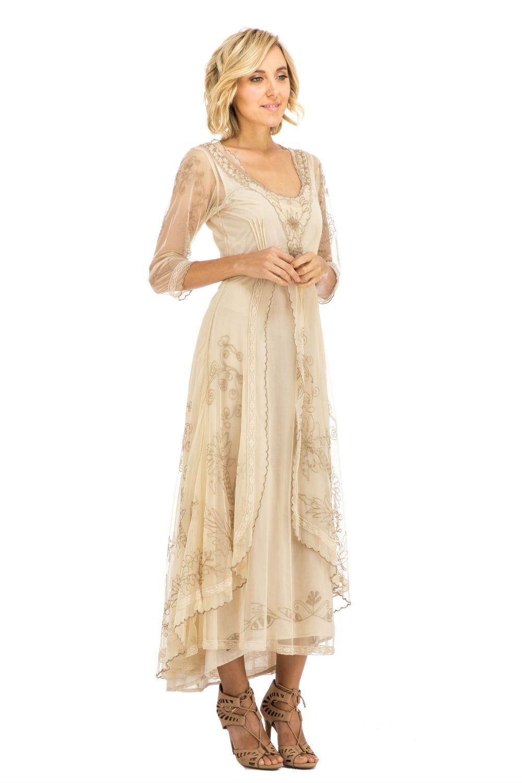 Gorgeous nataya vintage inspired wedding dress vintage style