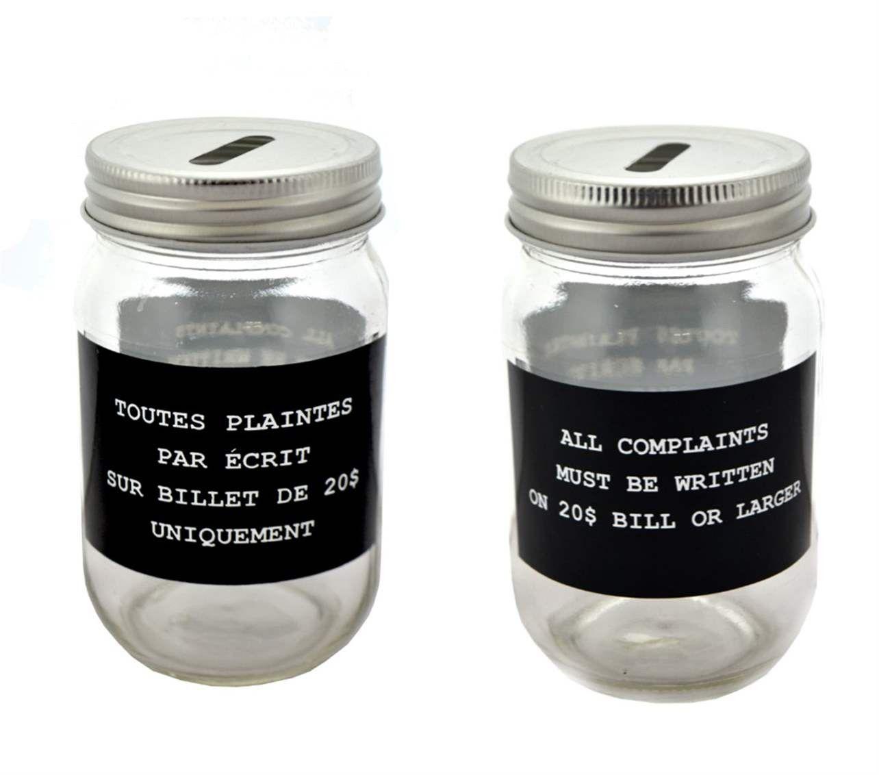 Complaints Jar Jar Mason Jars Complaints