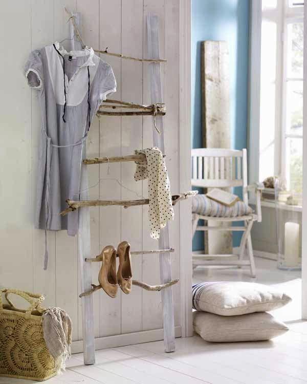 Selbermachen-Ideen mit Birkenholz für Garderobe im Flur Neue - diy garderobe