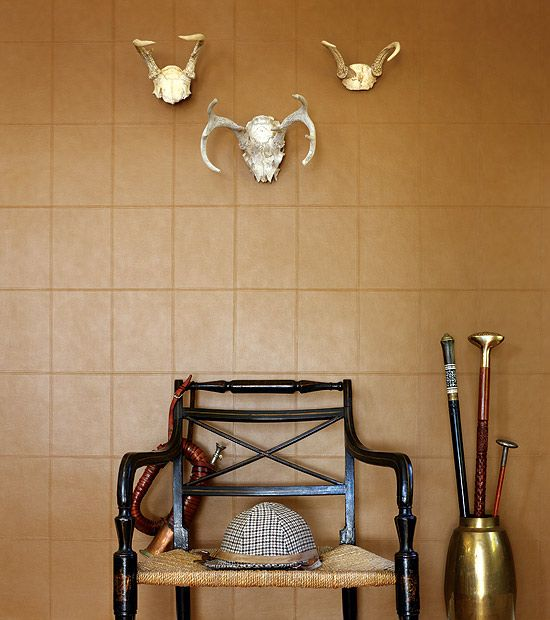 Welcome Home Dad with a masculine vinyl in the mudroom  Try