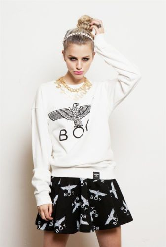 76d74d469 The sweater! Kpop Bigbang GD G-Dragon Fashion hiphop B-boy eagle Sweater  Sweatshirt White