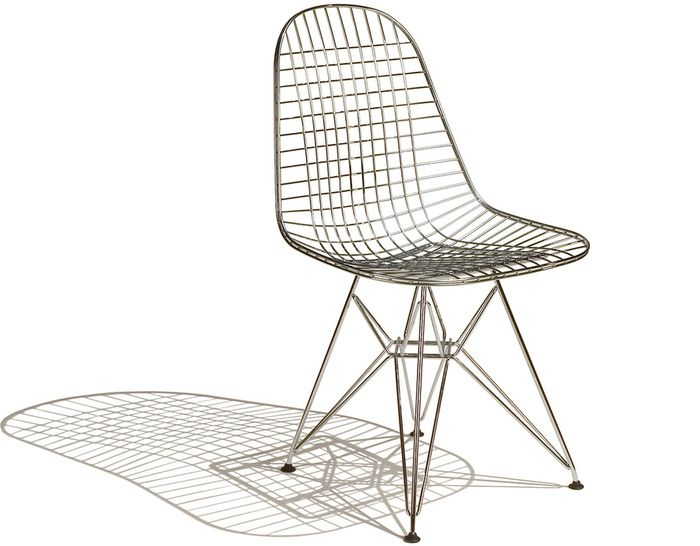 eamesa wire chair with wire base wire chair and side chair