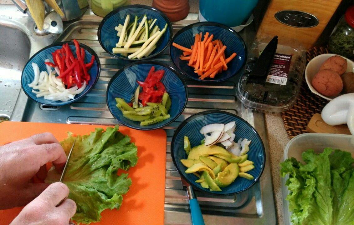Preparar shushi vegano