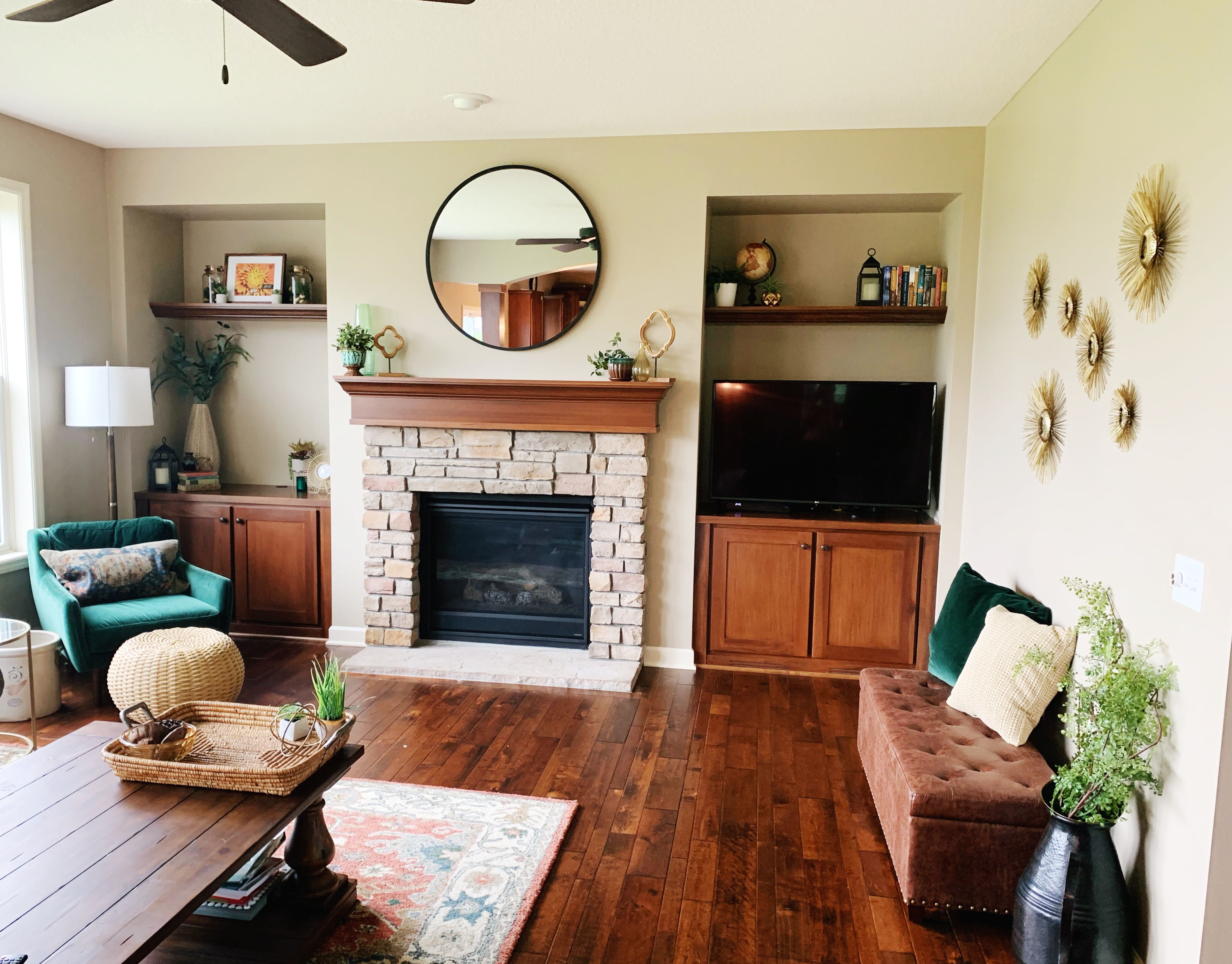 Living Room Built In Staging Living Room Built In Interior Design Upcycled Home Decor