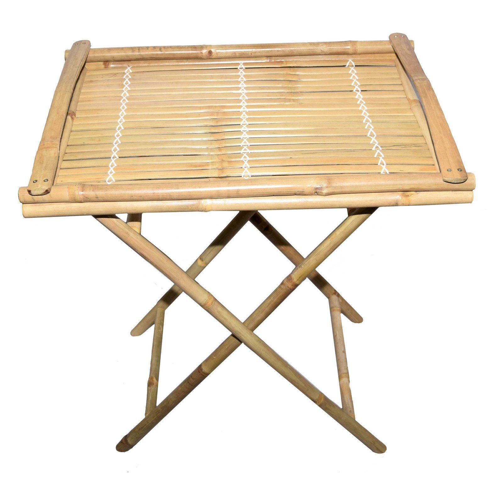 Outdoor Bamboo54 Bamboo Tray Table - 5885