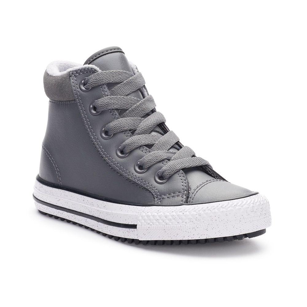 boys grey converse boots Online