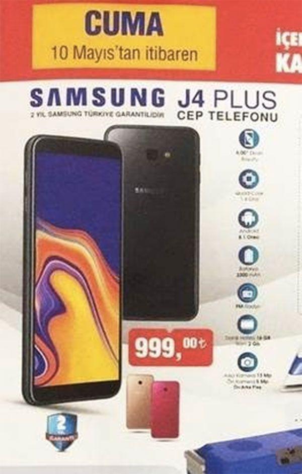 Bim Samsung j4 plus cep telefonu inceleme ve kullanıcı ...