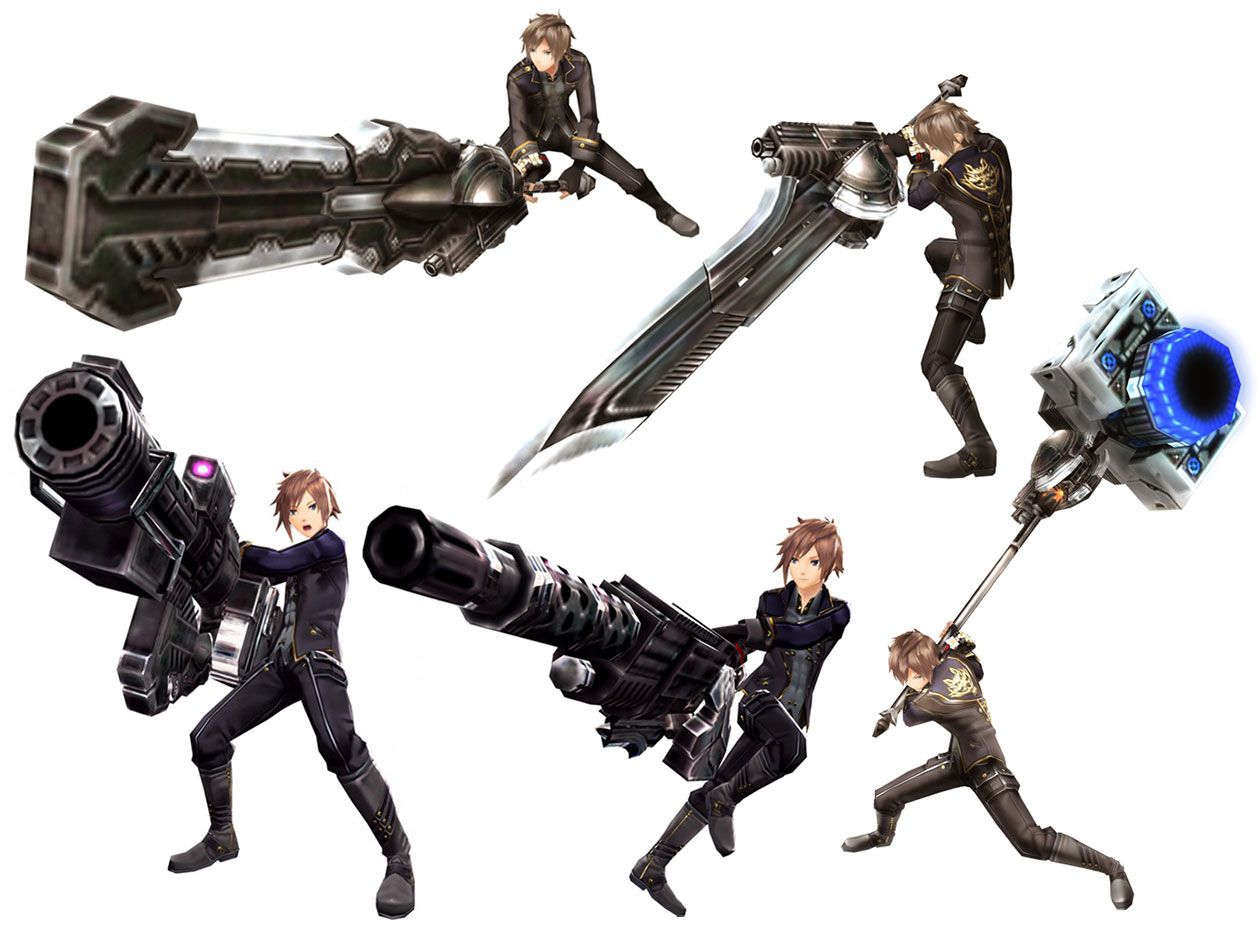 Male Protagonist Renders Fighting poses, Character