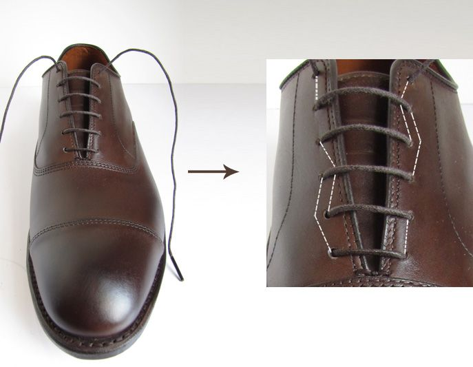 Bar Lacing Not Just For Men S Shoes