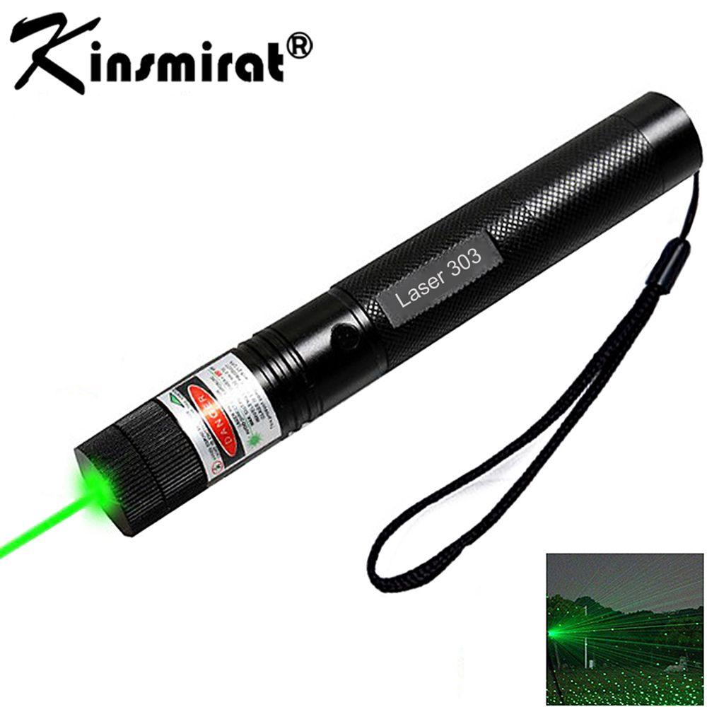 녹색 레이저 시력 CNC 레이저 포인터 강력한 장치 10000 메터 조절 초점 Lazer 스타 캡 + 충전기 + 18650 배터리
