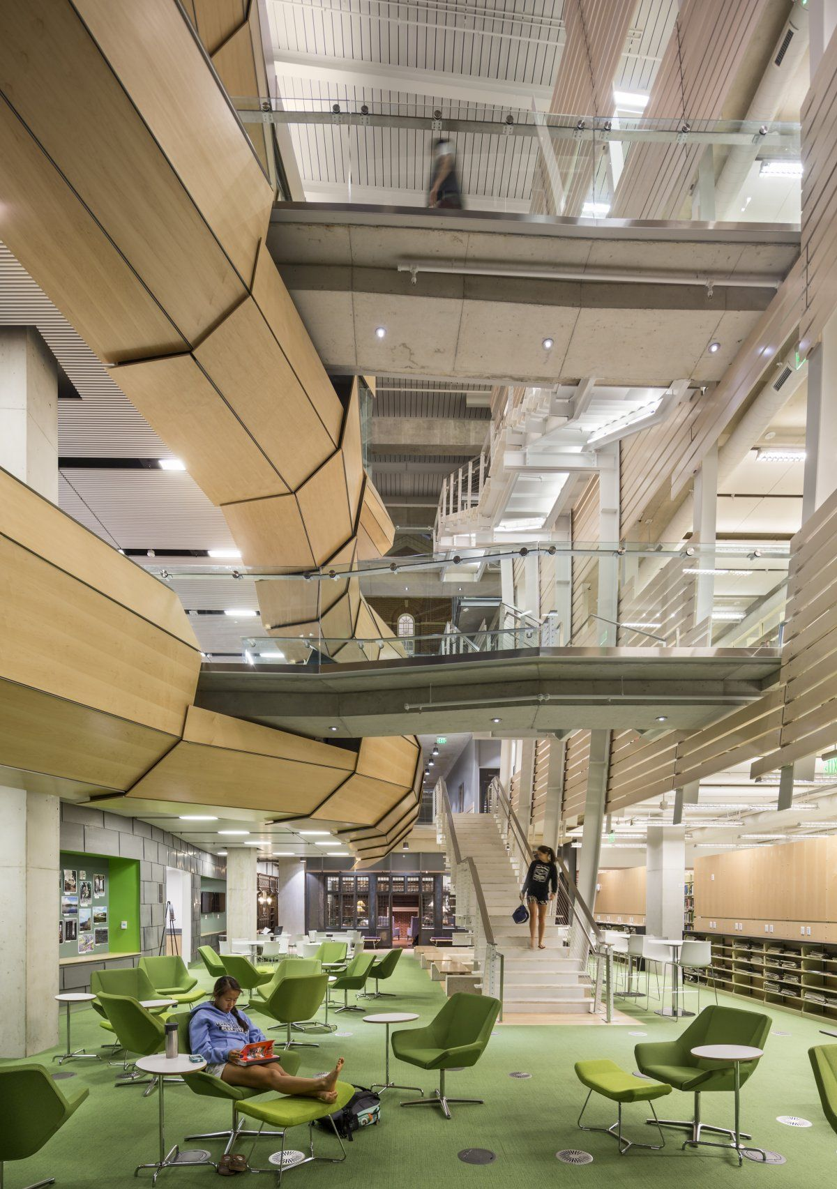 The 7 most beautiful new libraries in the world Walkways