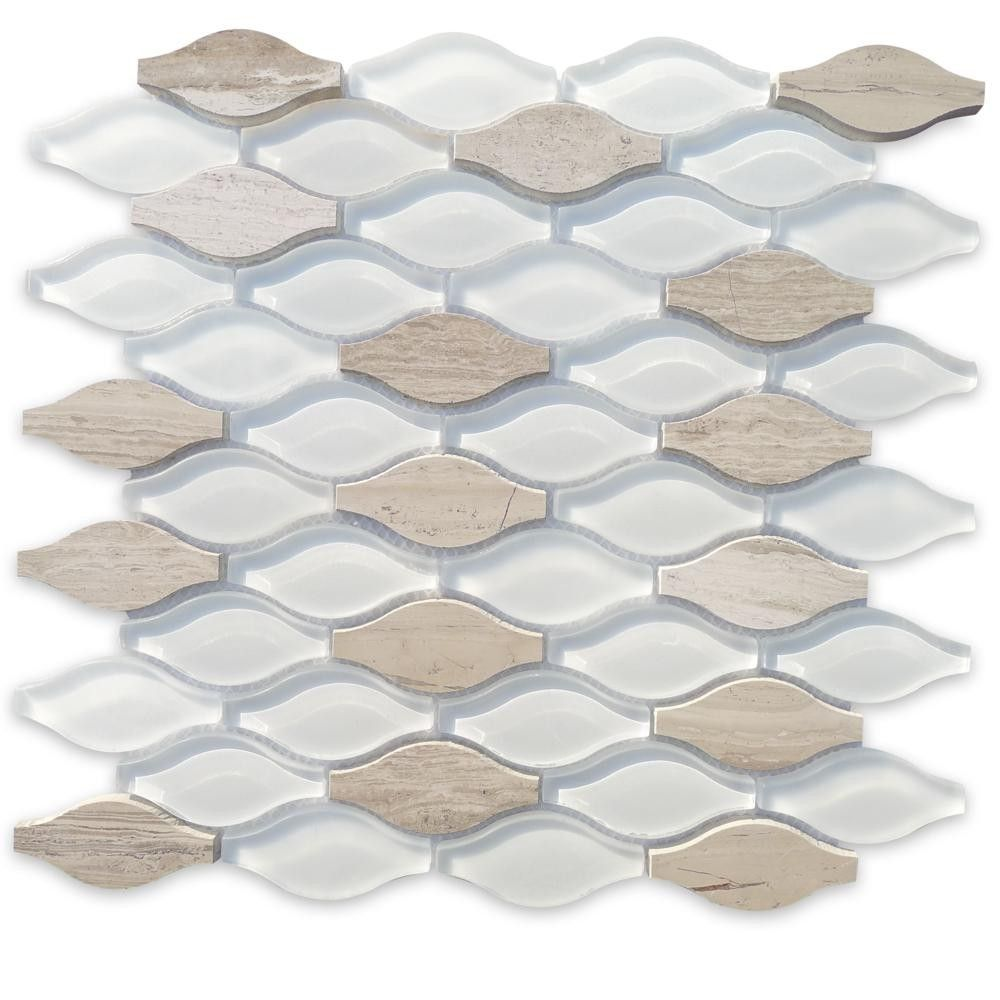 Iota fleur de sel glass and marble tile store also shop  polished frosted stone