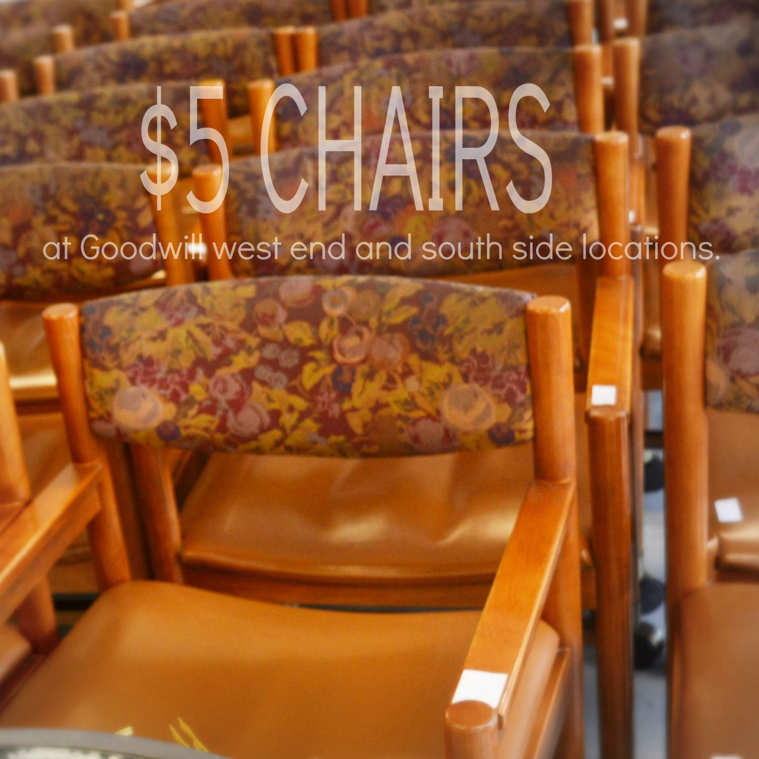 The Olive Garden in Edmonton donated 150 chairs to our south and ...