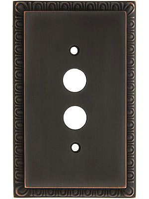 Egg And Dart Oil Rubbed Bronze