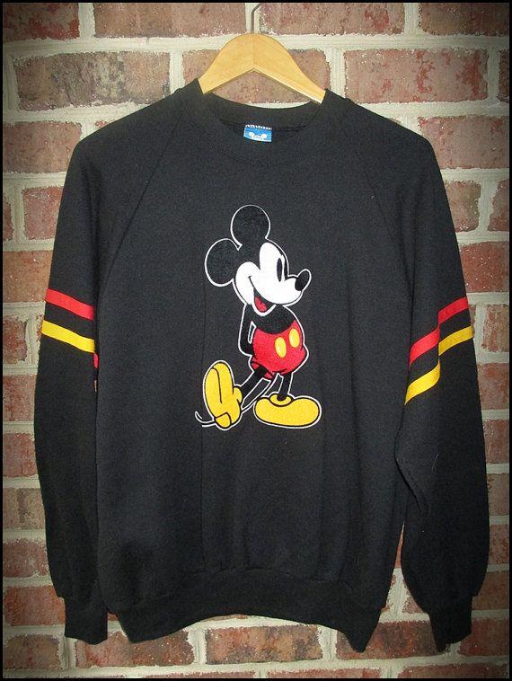 000c60ed32e Vintage 80 s Walt Disney Mickey Mouse Crewneck by CharchaicVintage ...