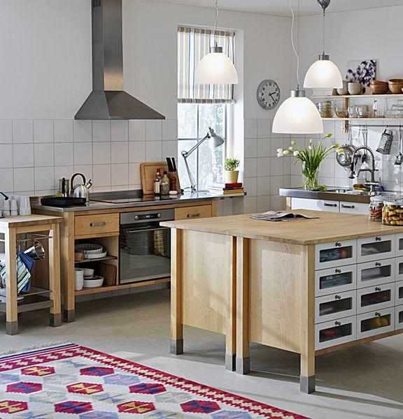 s rie v rde kuchyn z b ezov ho d eva cena 48 950 k ikea ikea pinterest esszimmer. Black Bedroom Furniture Sets. Home Design Ideas