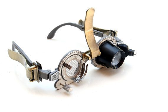 Handmade Steampunk eye wear by hitekdesigns on Etsy, $400.00