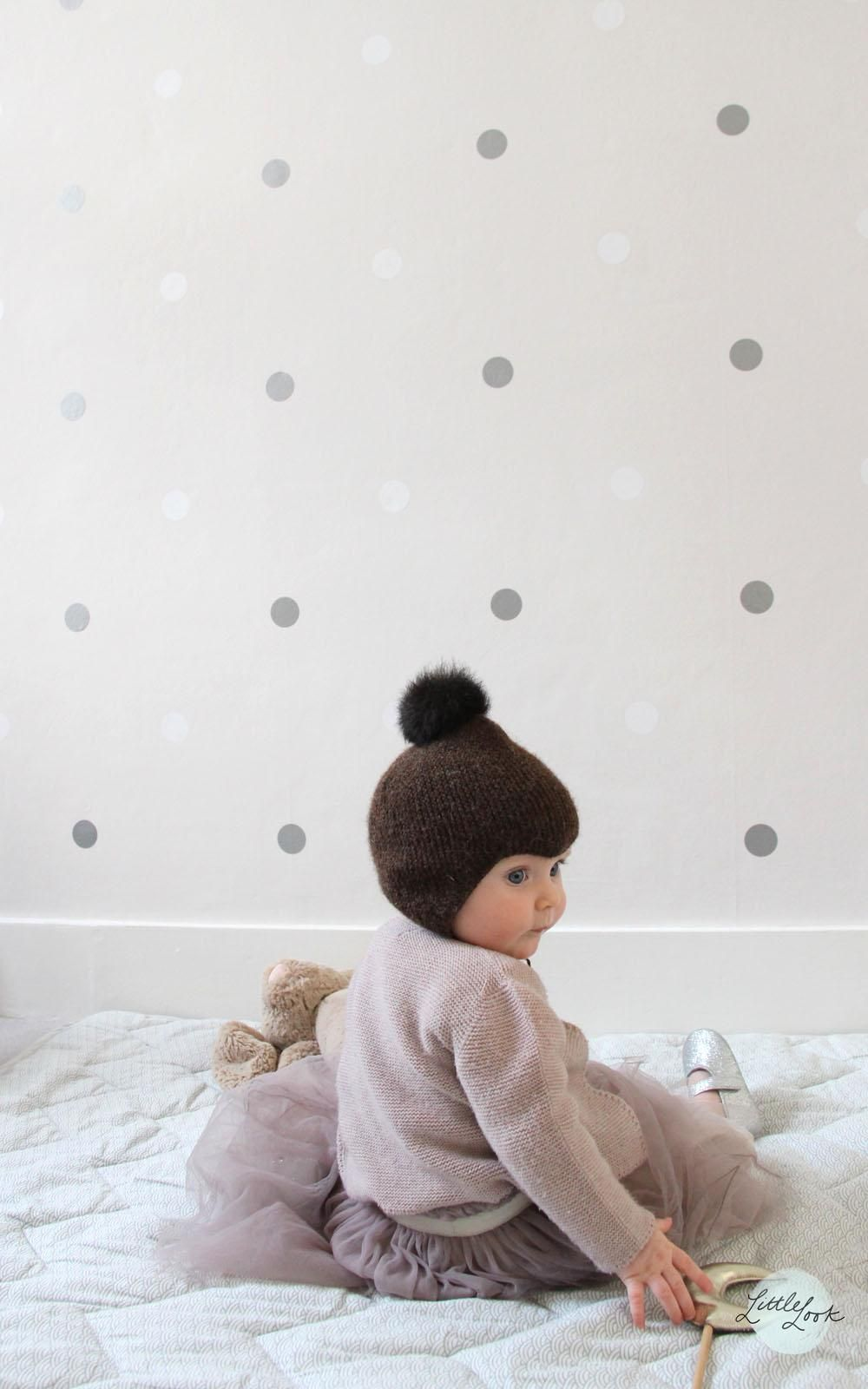 wall decals - spotted wall www.little-look.com - Inspirational Children's Design