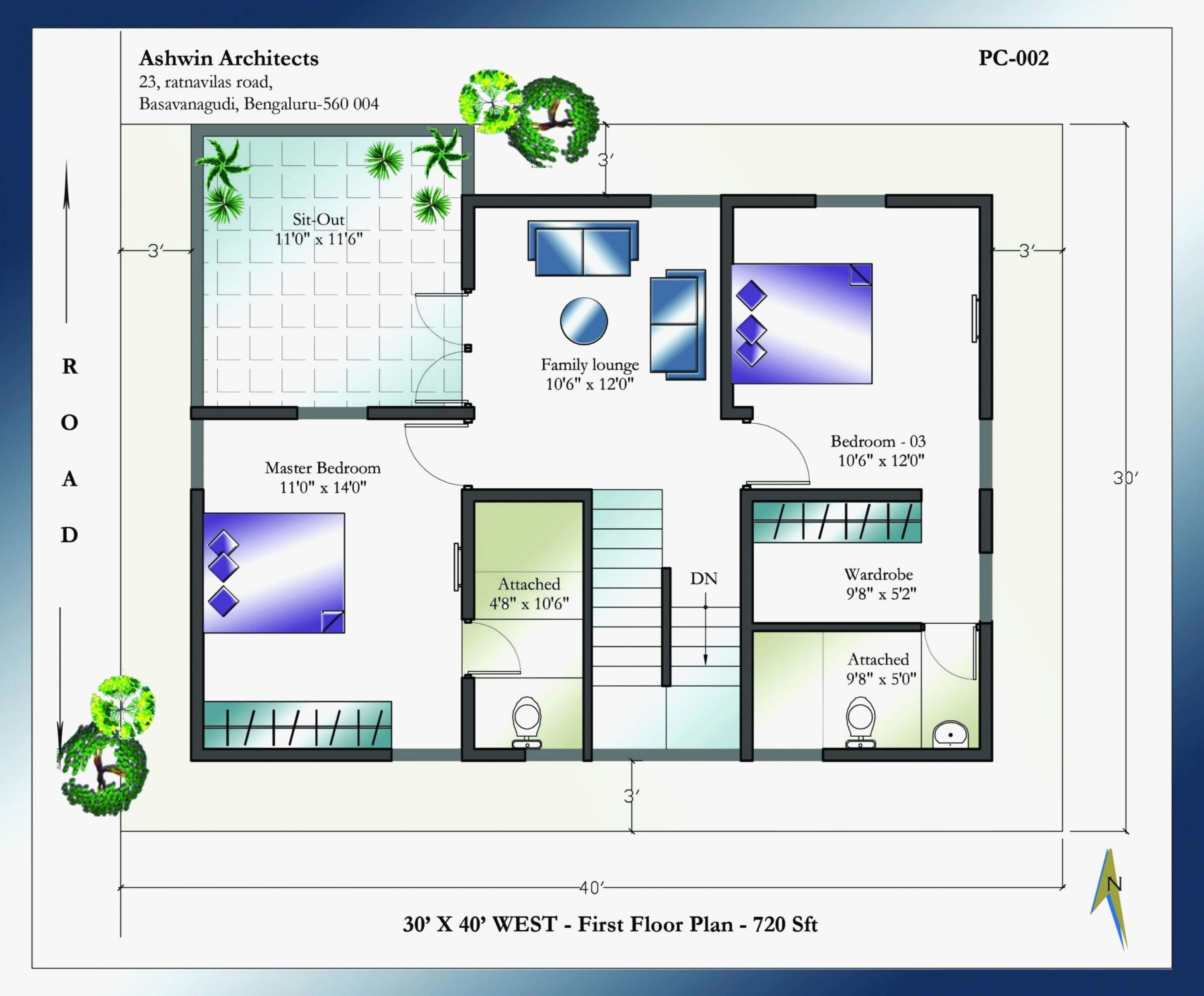 30 X 40 House Plans Inspiring Idea Interior Design Brady Bunch Floor Plan Best Software Layout Awesome 50 Unique Smal West Facing House Floor Plans House Plans