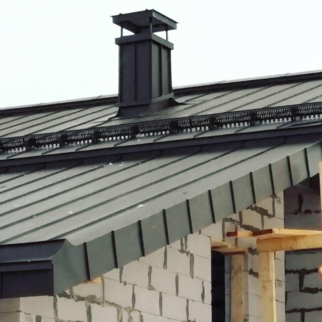 Strojka Krovlya Falcevayakrovlya Krysha Ruukki Pural Roof Roofing Roofer Sheetmetal Metalroof Ssab Falc Krovelnyeraboty Metal Roof Standing Seam Roof