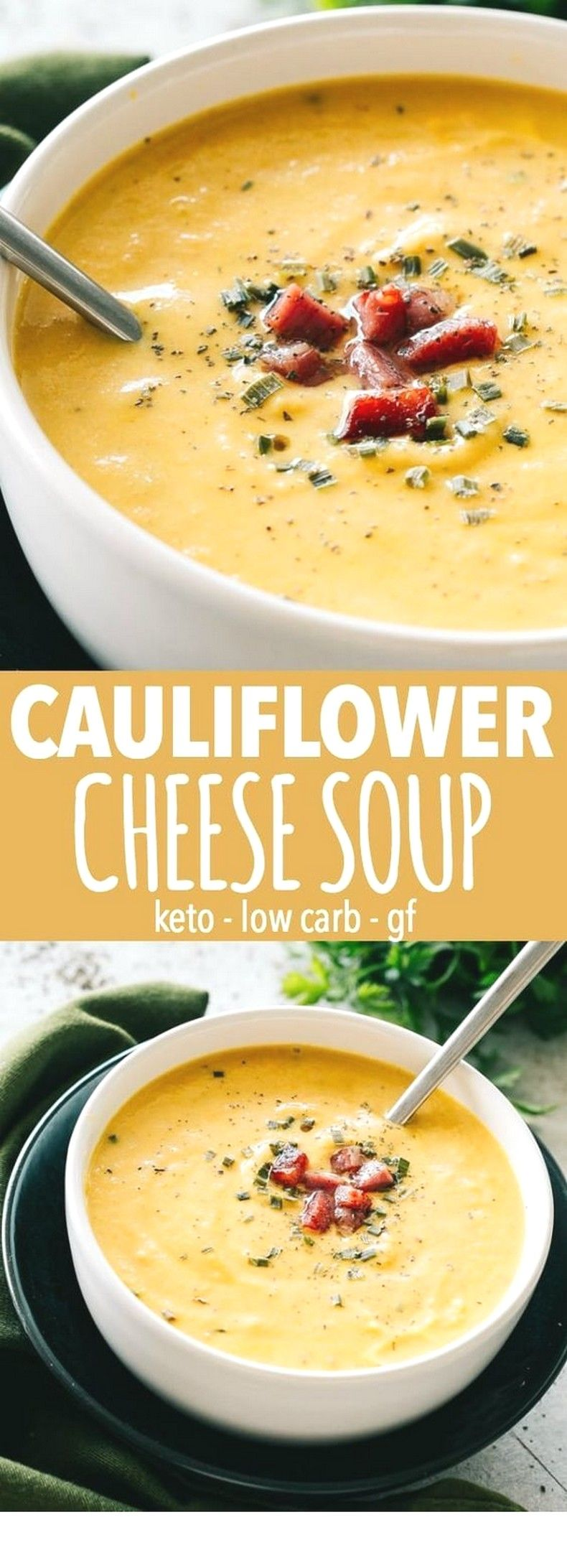 Cauliflower Cheese Soup | Easy Soup Recipes Ideas images