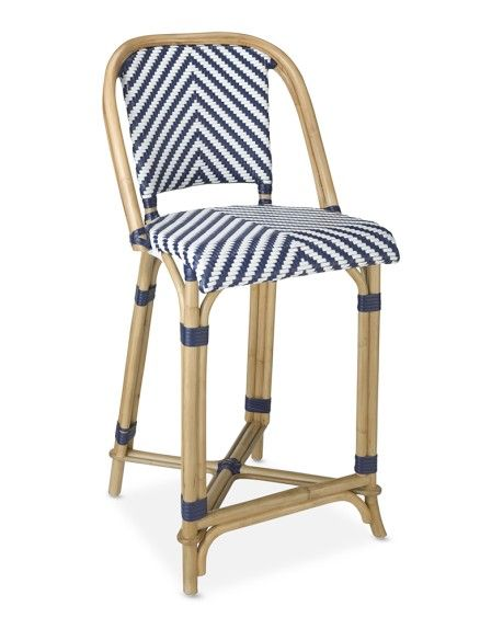Swell Parisian Bistro Woven Counter Stool Morning Room Counter Alphanode Cool Chair Designs And Ideas Alphanodeonline