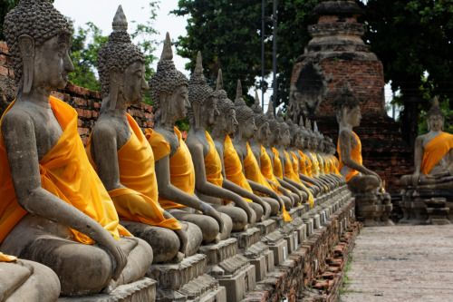 Les ruines d'Ayutthaya (Thaïlande)Authentique et loin du bling bling clinquant et de la dorure à tout va, Ayutthaya et ses nombreuses ruines semblent avoir été oubliées pendant des siècles et sortir d'un film d'Indiana Jones. A 1h30 et 60baths (1,50€) de Bangkok, en van, au départ de Victory Monument (Nord de Bangkok) ou 2h de Khao San Road, Ayuttthaya, peu fréquenté par les touristes, est pourtant, un endroit très intéressant, pour quiconque recherche l'authentisme, le calme et la…