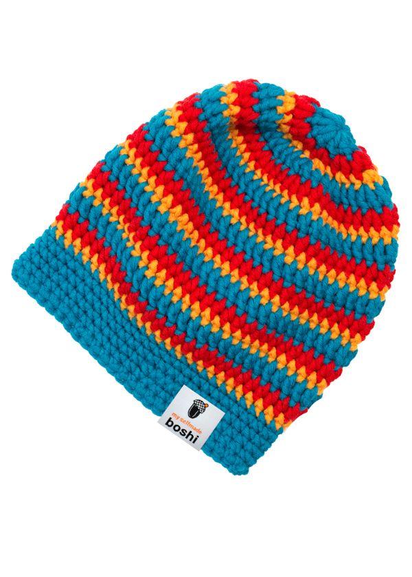 Spotlight.com.au: My Boshi Narita Beanie - free crochet hat pattern ...