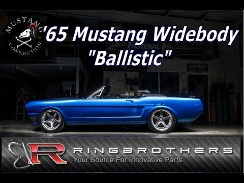 Ring Brothers#Ballistic Carbon Fiber Widebody 1965 Mustang Convertible  ...