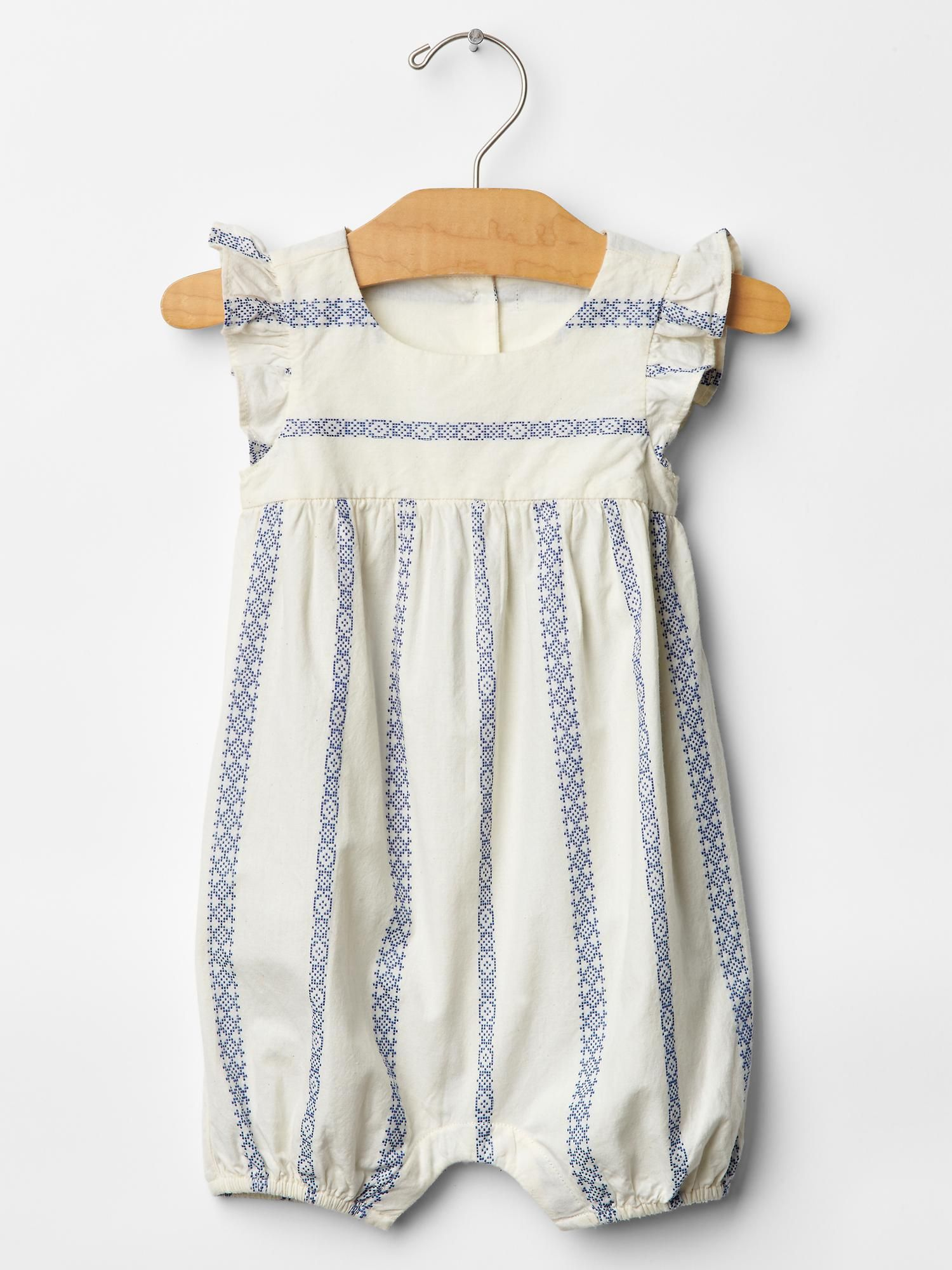 Gap Stripe flutter one piece Baby Madeleine