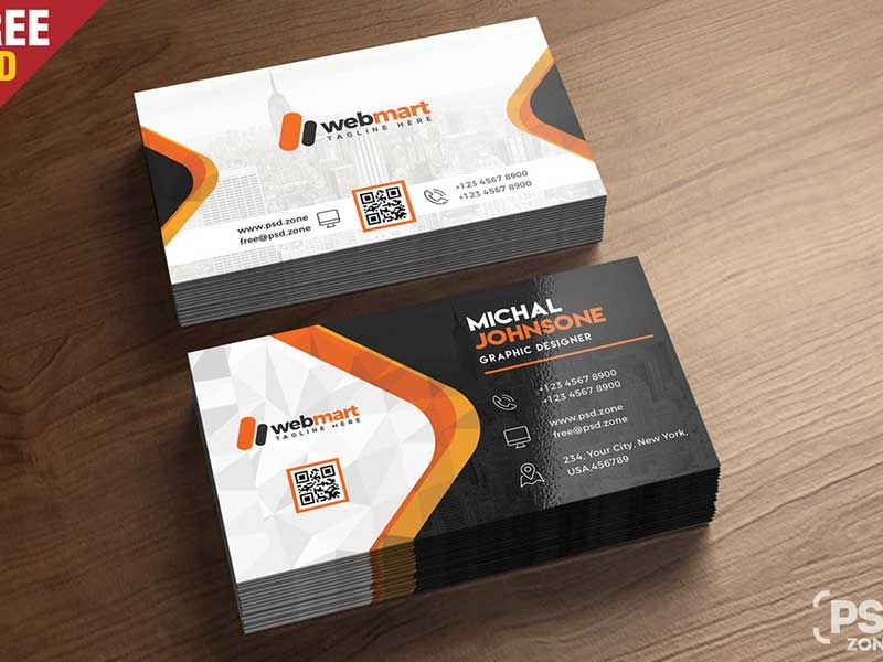 15 Free Printable Business Card Templates Psd 2018 Business Card Psd Business Card Template Psd Free Printable Business Cards