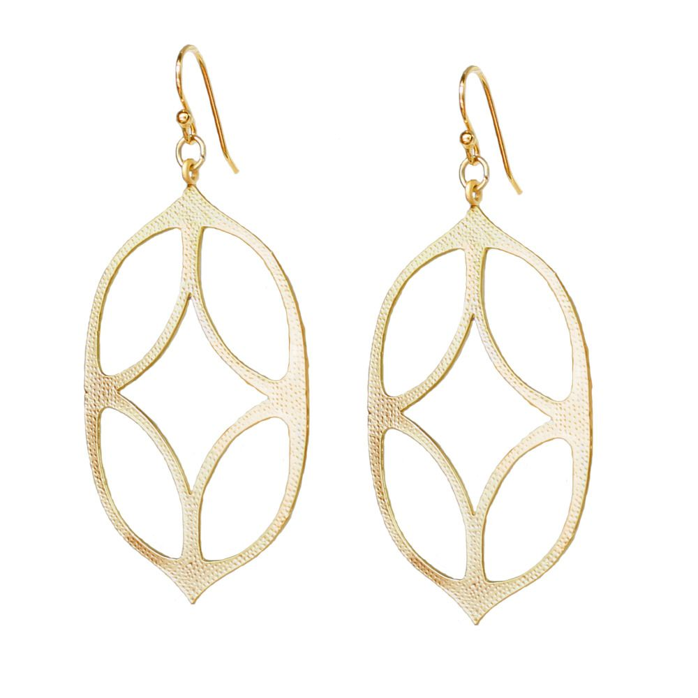 Gold Moroccan Style Earrings